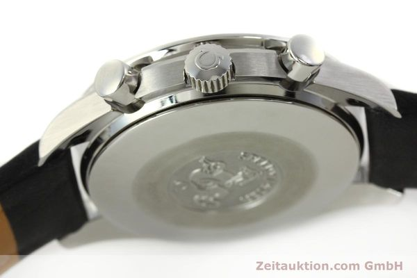 Used luxury watch Omega Speedmaster chronograph steel automatic Kal. 3220  | 142435 08
