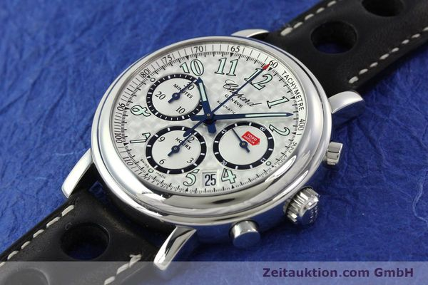 Used luxury watch Chopard Mille Miglia chronograph steel automatic Kal. ETA 2824-2 Ref. 8331  | 142436 01