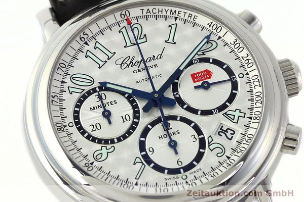 Used luxury watch Chopard Mille Miglia chronograph steel automatic Kal. ETA 2824-2 Ref. 8331  | 142436 02