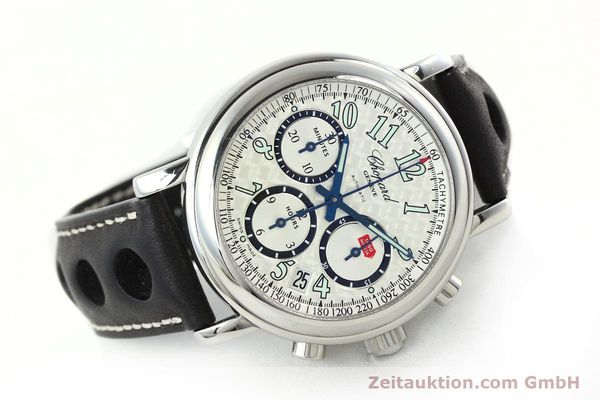 Used luxury watch Chopard Mille Miglia chronograph steel automatic Kal. ETA 2824-2 Ref. 8331  | 142436 03