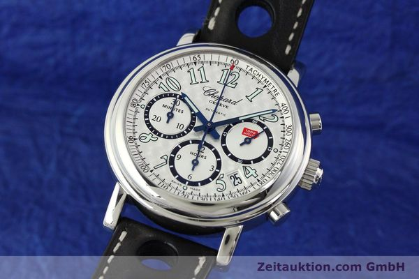 Used luxury watch Chopard Mille Miglia chronograph steel automatic Kal. ETA 2824-2 Ref. 8331  | 142436 04