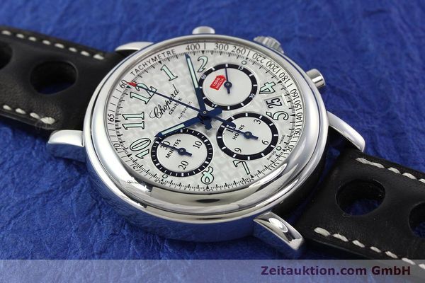 Used luxury watch Chopard Mille Miglia chronograph steel automatic Kal. ETA 2824-2 Ref. 8331  | 142436 14