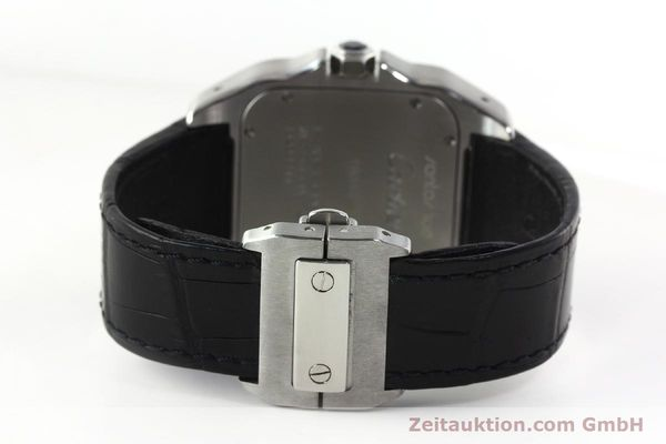 Used luxury watch Cartier Santos 100 steel automatic Kal. 49 ETA 2892-2  | 142438 12
