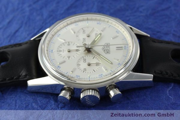 Tag Heuer Carrera chronograph steel manual winding Kal  LWO 1873 Ref