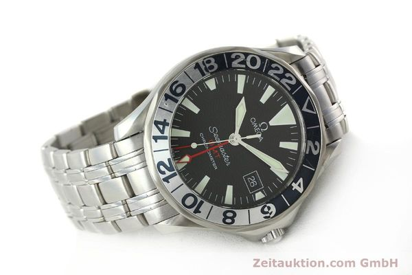 Used luxury watch Omega Seamaster steel automatic Kal. 1128  | 142441 03