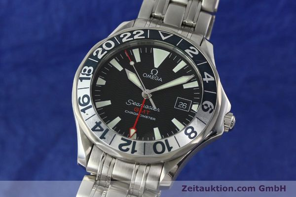 Used luxury watch Omega Seamaster steel automatic Kal. 1128  | 142441 04