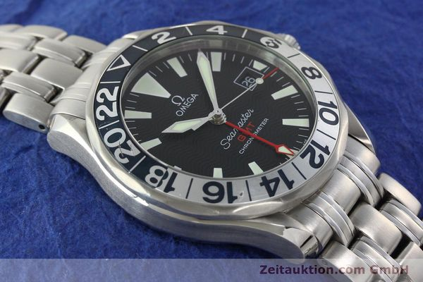 Used luxury watch Omega Seamaster steel automatic Kal. 1128  | 142441 15