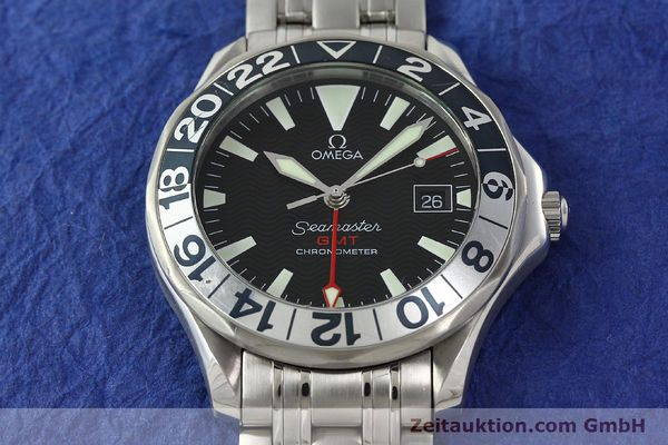 Used luxury watch Omega Seamaster steel automatic Kal. 1128  | 142441 16