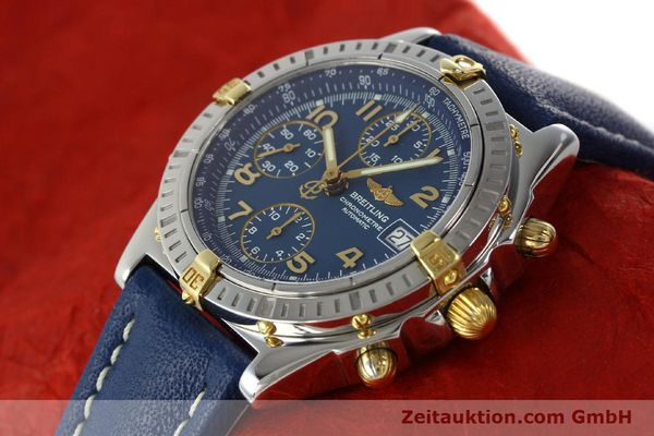 Used luxury watch Breitling Chronomat chronograph steel / gold automatic Kal. B13 ETA 7750 Ref. B13352  | 142442 01