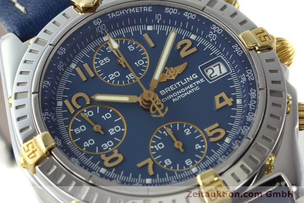 Used luxury watch Breitling Chronomat chronograph steel / gold automatic Kal. B13 ETA 7750 Ref. B13352  | 142442 02