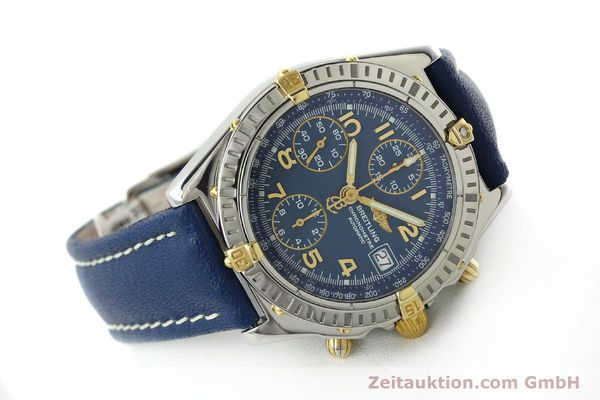 Used luxury watch Breitling Chronomat chronograph steel / gold automatic Kal. B13 ETA 7750 Ref. B13352  | 142442 03