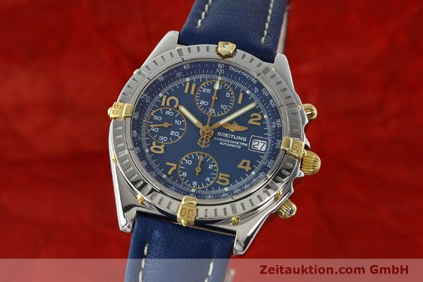 Used luxury watch Breitling Chronomat chronograph steel / gold automatic Kal. B13 ETA 7750 Ref. B13352  | 142442 04