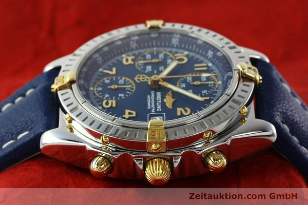 Used luxury watch Breitling Chronomat chronograph steel / gold automatic Kal. B13 ETA 7750 Ref. B13352  | 142442 05