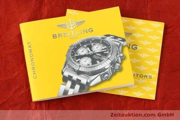 Used luxury watch Breitling Chronomat chronograph steel / gold automatic Kal. B13 ETA 7750 Ref. B13352  | 142442 13