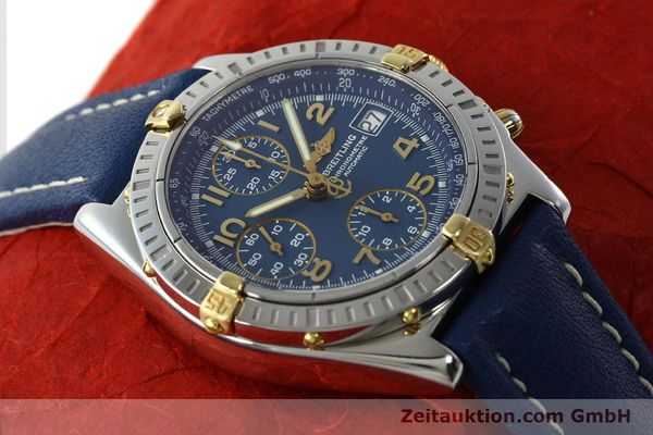 Used luxury watch Breitling Chronomat chronograph steel / gold automatic Kal. B13 ETA 7750 Ref. B13352  | 142442 17