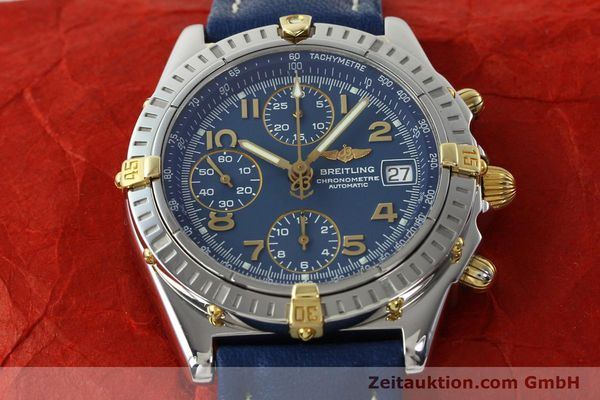 Used luxury watch Breitling Chronomat chronograph steel / gold automatic Kal. B13 ETA 7750 Ref. B13352  | 142442 18