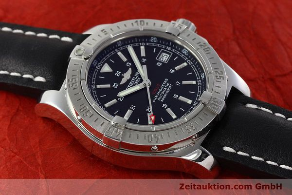 Used luxury watch Breitling Colt steel automatic Kal. B17 ETA 2824-2 Ref. A17380  | 142444 15