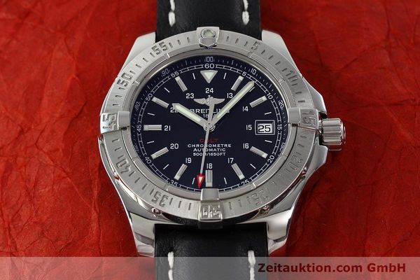 Used luxury watch Breitling Colt steel automatic Kal. B17 ETA 2824-2 Ref. A17380  | 142444 16