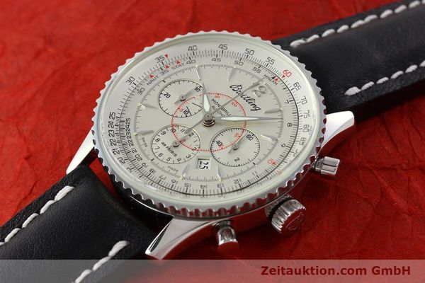 Used luxury watch Breitling Montbrillant chronograph steel automatic Kal. B41 ETA 2892A2 Ref. A41030  | 142445 01