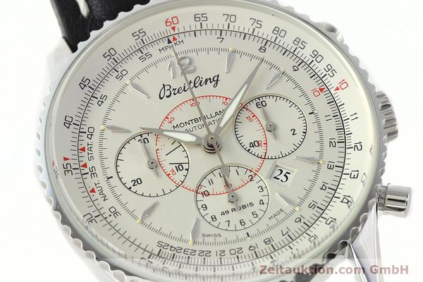 Used luxury watch Breitling Montbrillant chronograph steel automatic Kal. B41 ETA 2892A2 Ref. A41030  | 142445 02