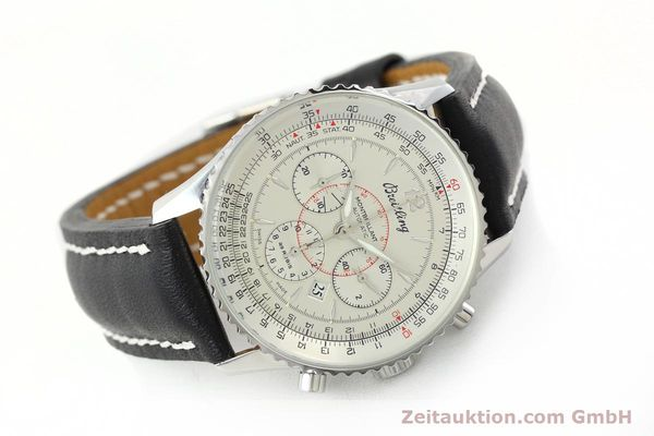 Used luxury watch Breitling Montbrillant chronograph steel automatic Kal. B41 ETA 2892A2 Ref. A41030  | 142445 03