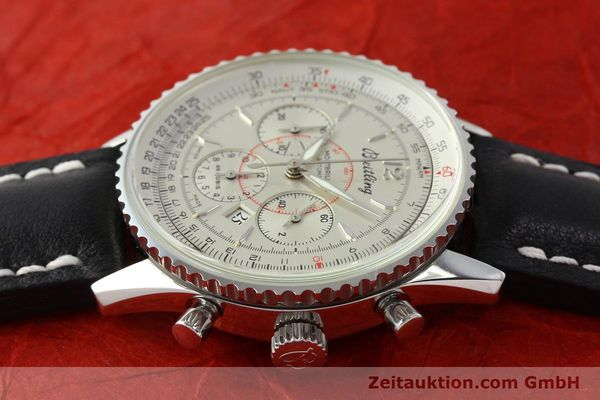 Used luxury watch Breitling Montbrillant chronograph steel automatic Kal. B41 ETA 2892A2 Ref. A41030  | 142445 05