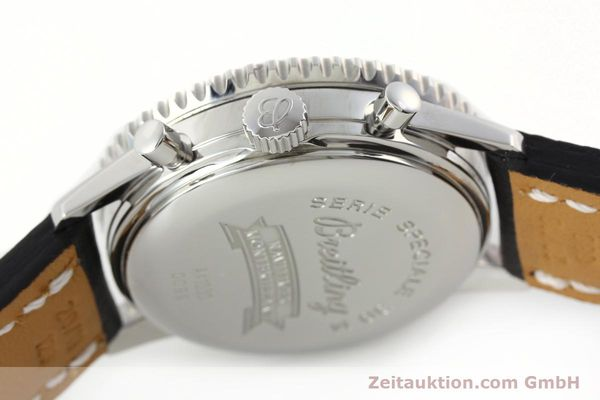 Used luxury watch Breitling Montbrillant chronograph steel automatic Kal. B41 ETA 2892A2 Ref. A41030  | 142445 08