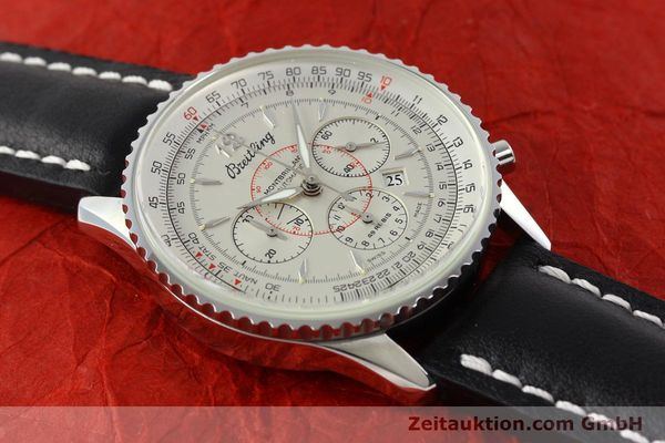 Used luxury watch Breitling Montbrillant chronograph steel automatic Kal. B41 ETA 2892A2 Ref. A41030  | 142445 13