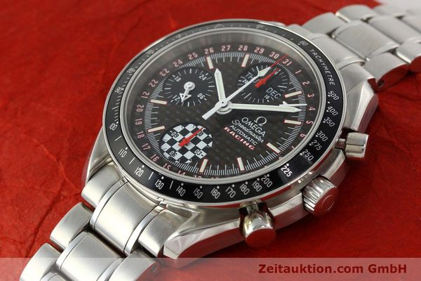 Used luxury watch Omega Speedmaster Racing chronograph steel automatic Kal. 1151 LIMITED EDITION | 142449 01