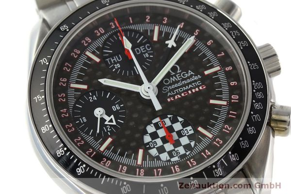 Used luxury watch Omega Speedmaster Racing chronograph steel automatic Kal. 1151 LIMITED EDITION | 142449 02
