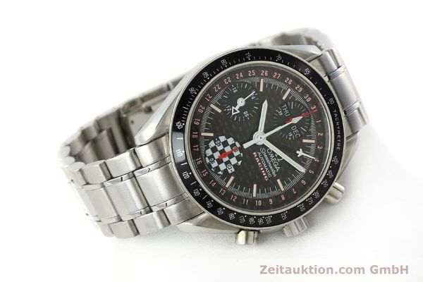 Used luxury watch Omega Speedmaster Racing chronograph steel automatic Kal. 1151 LIMITED EDITION | 142449 03