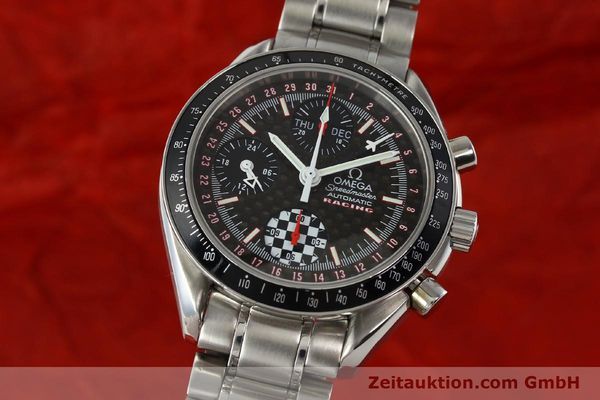 Used luxury watch Omega Speedmaster Racing chronograph steel automatic Kal. 1151 LIMITED EDITION | 142449 04