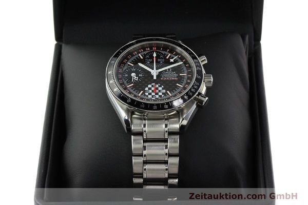 Used luxury watch Omega Speedmaster Racing chronograph steel automatic Kal. 1151 LIMITED EDITION | 142449 07