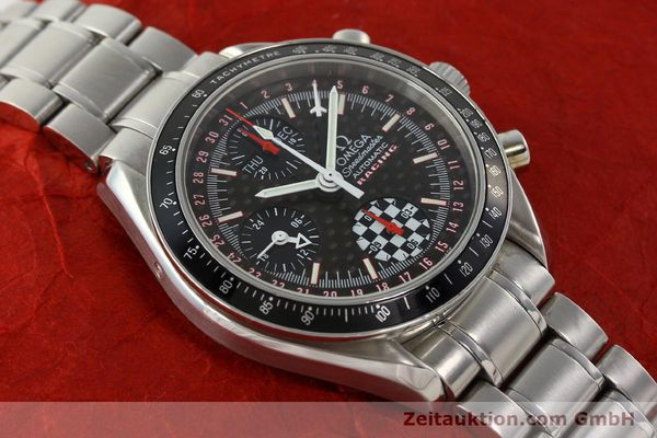 Used luxury watch Omega Speedmaster Racing chronograph steel automatic Kal. 1151 LIMITED EDITION | 142449 14