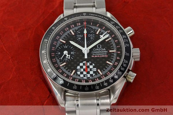 Used luxury watch Omega Speedmaster Racing chronograph steel automatic Kal. 1151 LIMITED EDITION | 142449 15