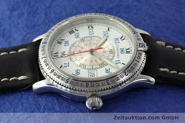 Used luxury watch Longines Lindbergh Stundenwinkel steel automatic Kal. L617.2 ETA 2892 Ref. L2.617.4  | 142451 05