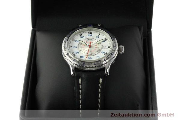 Used luxury watch Longines Lindbergh Stundenwinkel steel automatic Kal. L617.2 ETA 2892 Ref. L2.617.4  | 142451 07