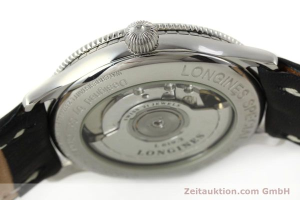 Used luxury watch Longines Lindbergh Stundenwinkel steel automatic Kal. L617.2 ETA 2892 Ref. L2.617.4  | 142451 08