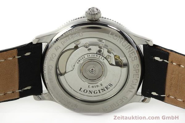 Used luxury watch Longines Lindbergh Stundenwinkel steel automatic Kal. L617.2 ETA 2892 Ref. L2.617.4  | 142451 09