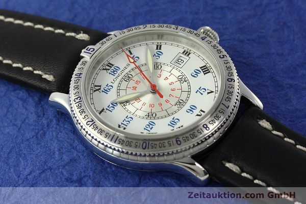 Used luxury watch Longines Lindbergh Stundenwinkel steel automatic Kal. L617.2 ETA 2892 Ref. L2.617.4  | 142451 13