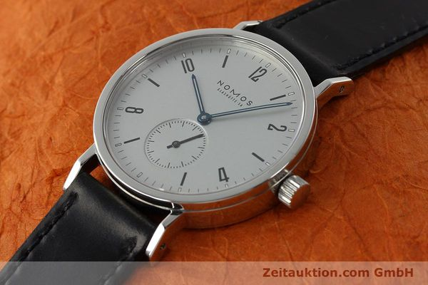 Used luxury watch Nomos Tangente Sport steel manual winding Kal. ETA 7001  | 142452 01