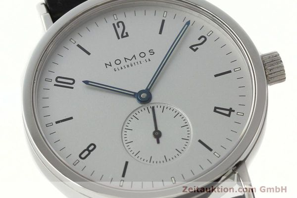Used luxury watch Nomos Tangente Sport steel manual winding Kal. ETA 7001  | 142452 02