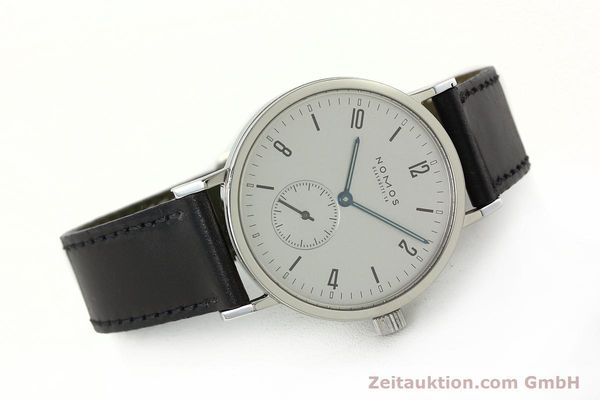 Used luxury watch Nomos Tangente Sport steel manual winding Kal. ETA 7001  | 142452 03
