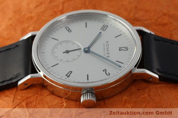 Used luxury watch Nomos Tangente Sport steel manual winding Kal. ETA 7001  | 142452 05