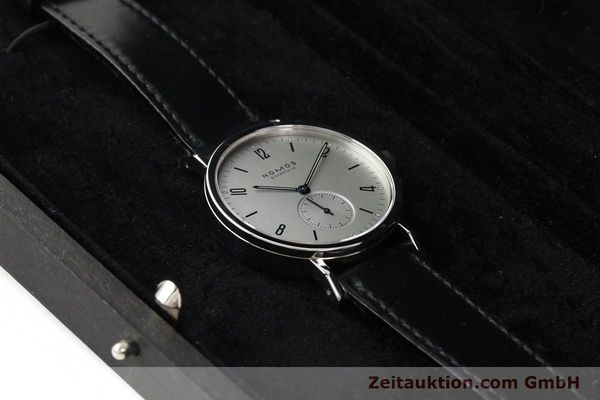 Used luxury watch Nomos Tangente Sport steel manual winding Kal. ETA 7001  | 142452 07