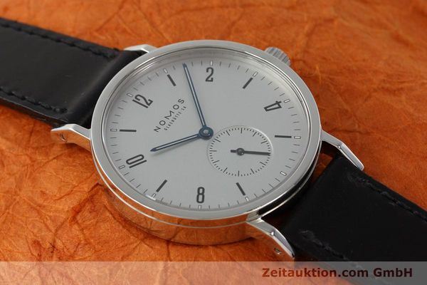 Used luxury watch Nomos Tangente Sport steel manual winding Kal. ETA 7001  | 142452 15