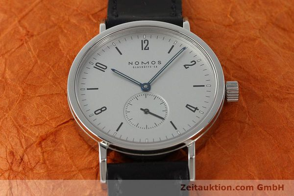 Used luxury watch Nomos Tangente Sport steel manual winding Kal. ETA 7001  | 142452 16