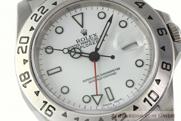 Used luxury watch Rolex Explorer II steel automatic Kal. 3185 Ref. 16570  | 142453 02