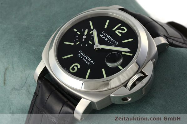 Used luxury watch Panerai Luminor Marina steel automatic Kal. OP III ETA A05511 Ref. OP6648 PAM00220  | 142454 01