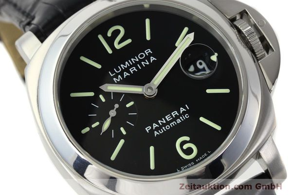 Used luxury watch Panerai Luminor Marina steel automatic Kal. OP III ETA A05511 Ref. OP6648 PAM00220  | 142454 02